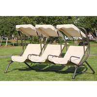 £169 instead of £309.01 (from MHStar) for a three-seater outdoor swing chair - save 45% - Outdoor Gifts