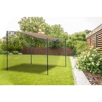 £109 (from Garden & Camping) for a 2 x 2.5m Santorini lean-to metal gazebo! - Camping Gifts