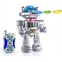 £9.99 for an intelligent remote control fighting and talking robot - featuring sounds, light, music, walking and dancing! - Remote Control Gifts