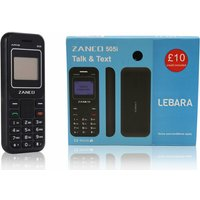 £16.50 (from Sol Electronics) for a Zanco 505i mobile phone and Lebara SIM card - Mobile Gifts