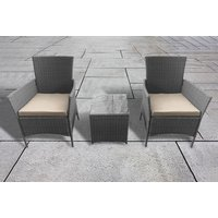 £119 (from Garden & Camping) for a three-piece Chatsworth rattan garden bistro set! - Camping Gifts