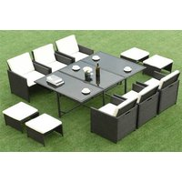 £409 instead of £999 (from FDS) for an 11pc rattan outdoor dining set - save 59% - Outdoor Gifts