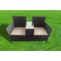 £124 (from Garden & Camping) for a two-person rattan garden seat! - Camping Gifts
