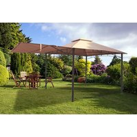 £129 instead of £299.99 (from Garden & Camping) for a 3x3m metal gazebo with awning - save 57% - Camping Gifts