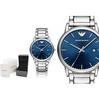 £109 instead of £229 (from Ticara Watches) for a Emporio Armani AR11089 men's blue dial watch - save 52% - Armani Gifts