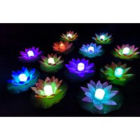 £2.99 instead of £19.90 (from Hey4Beauty) for a floating LED lily pad or £7.99 for a set of five or £11.99 for a set of 10 - choose from five colours and save up to 85% - Colours Gifts