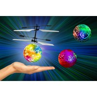 Image of £4.99 instead of £29.99 (from Litnfleek) for an electric infrared flying ball - choose from three colours and save 83%