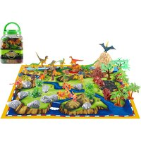 Image of £11.99 instead of £31.99 (from Spezzee) for a kid's dinosaur world play set - save 41%