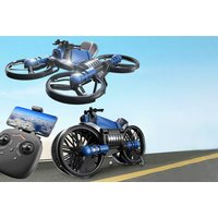 580g 2in1 Transforming Motorcycle & Raptor Drone with Camera