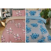 100% Brushed Cotton Flannelette Duvet Set  2 Sizes!