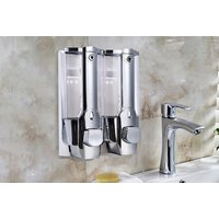 Image of £10.99 instead of £29.99 (from My Brand Logic) for a SuperClean soap dispenser with wall mount! - save 63%