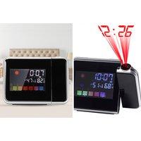2in1 Digital LCD Alarm Clock & Calendar