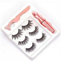 Magnetic Eyelashes & Eyeliner Kit  w/3 Different Pairs of Lashes!