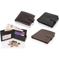 """£10 (from Woodland Leathers) for a leather bi fold RFID 4.5"""" multi pocket wallet"""