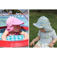 Image of £5.99 instead of £19.99 (from Wish Imports) for a children's sun hat - choose your design and save 70%