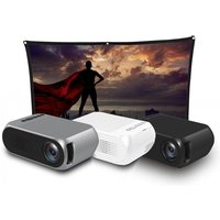 """Image of £32.99 instead of £99.99 (from Arther Gold) for a 1080P HD mini LED projector, £44.99 with an 84"""" screen - save 67%"""