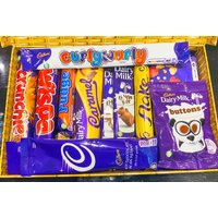 Cadbury Letterbox Hamper  Crunchie Bar, Wispa, Flake & More!