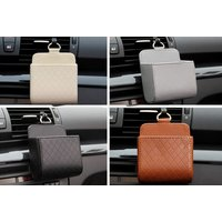 Leather Multifunction Car Storage Bag  4 Colours!