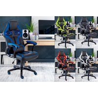 'Executive Office Computer & Gaming Chair   Red   Living Social