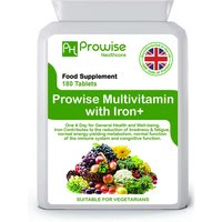 £8.99 instead of £34.99 for a six-month* supply of multivits and iron+ supplements from Prowise! - save 72%