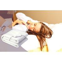 'Electric Heated Blanket - 2 Sizes   Wowcher