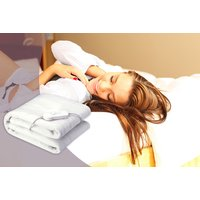 'Electric Heated Blanket   Living Social