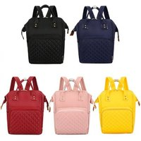 '£12 For A Large Capacity Nappy Changing Bag In Black, Pink, Dark Blue, Red Or Yellow From Hey4beauty