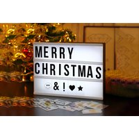 Image of Light-Up Message Board – 3 Colours | Wowcher