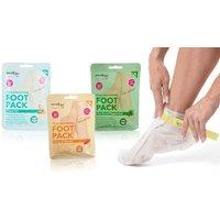 3 Derma V10 Foot Mask Packs  Get 1, 2, 3, 4 or 5 Sets