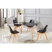 '1, 2 Or 4 Dining Chairs   Grey   Living Social