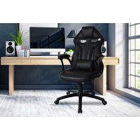 'Executive Office & Gaming Chair   Black   Living Social