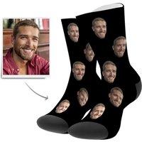 Personalised Image Socks  UK Sizes 1.512.5