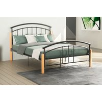'£69 Instead Of £111.99 For A Single Venice Metal And Wood Bed Frame, £79 For A Small Double Bed Frame, £84 For A Double Bed Frame Or £95 For A King Size Bed Frame From Home Discount - Save Up To 38%
