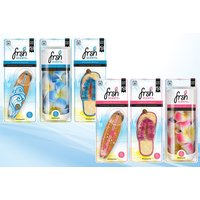 £5.99 for a pack of three car air fresheners in Hawaiian Breeze or Sunshine Vanilla scent sets