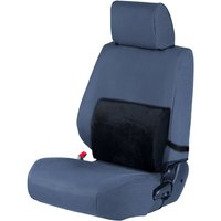 £8.99 for a black lumbar memory foam cushion with cooling gel from JRP Distribution