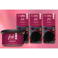 £7.99 for a pack of three organic cherry tin car air fresheners
