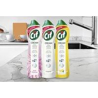Image of 3-Pack Cif Cream 500ml Multi-Purpose Cleaner - 3 Options! | Wowcher