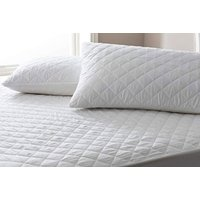 Image of Quilted Mattress Protector - Sizes Single - Super King | Wowcher