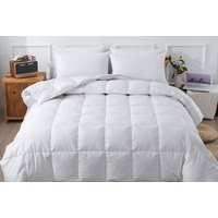 '15 Tog Goose Feather & Down Duvet - Single To Super King!   Wowcher
