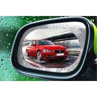 4PC Universal Rainproof Rear-view Mirror Film | Wowcher