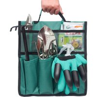 Image of Garden Tool Organiser Bag - Green, Black, Purple! | Wowcher