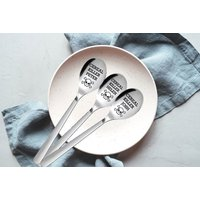 Image of 'Cereal Killer' Funny Personalised Table Spoon | Wowcher
