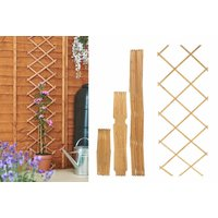 Image of Expanding Wooden Fence Panel | Wowcher