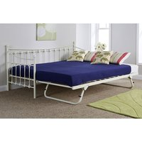 Image of Metric Day Bed & Trundle Set - Ivory or Black! | Wowcher