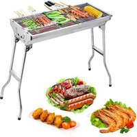 Image of Folding Portable Grill BBQ | Wowcher