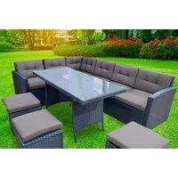 Image of 9-Seater Rattan Bar Furniture Set | Wowcher