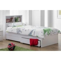Image of 3ft Single Kids Bookcase Storage Bed | Wowcher