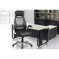 Image of Black High-Back Mesh Office Chair | Wowcher