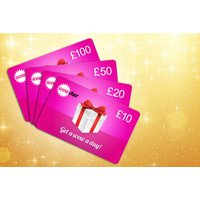 £10, £20, £50 or £100 Wowcher Gift Card - give the ultimate gift! DELIVERY INCLUDED - Wowcher Gifts