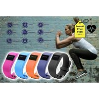 £14.99 instead of £149.99 (from Ugoagogo) for a next-gen TW64s 8-in-1 Bluetooth sports activity bracelet, with the first 150 sold including a replacement strap - choose from five colours and save 90% - Activity Gifts